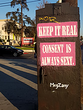 Keep it real consent is always sexy Meg Zany